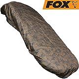 Fox Camo VRS2 Cover 150x240cm - Schutzabdeckung für Angelliege, Wasserdichte Abdeckung für Karpfenliege, Schutzhaube für Liege