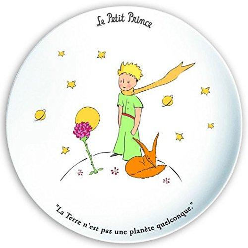 FRANZOSICH VINTAGE Dessertteller 20cm Der kleine Prinz, die Rose und der Fuchs