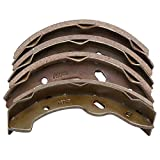 Dr.Acces Golf Cart Brake Shoes, Set of 4, Fits E-Z-Go TXT (97-up), Workhorse 96+, Yamaha G14-G22 94-06 Replace#27943G01 70795G01
