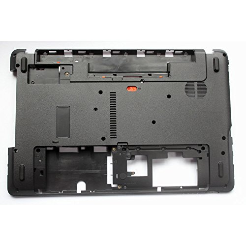 Recambio para portátil Acer Aspire Q5WPH Q5WT6 E1-521 E1-521G E1-531 E1-571 E1-571G E1-531G AP0HJ000A00 AP0N000100 Negro Carcasa Inferior para la Base.