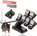 TK Gruppe Timo Klingler 6X ratonera ratonera Trampa a presión Trampa Reutilizable para ratón, Rata - Trampa para ratón - Trampa para Ratas para hogar y jardín