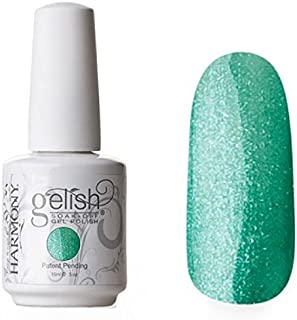 gelish mint icing - teal frost 15ml pro uv polish