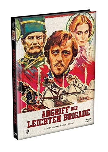 ANGRIFF DER LEICHTEN BRIGADE - 1-Disc wattiertes Mediabook Cover A [Blu-ray] Limited 166 Edition