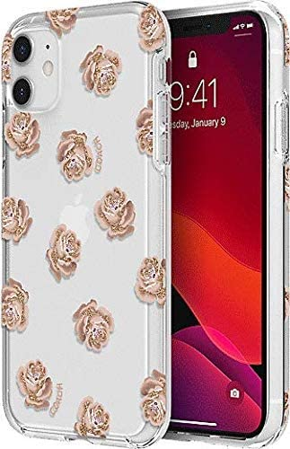 Coach Protective Case for iPhone 11 Pro (Clear/Pink/Glitter, iPhone 11 Pro 5.8