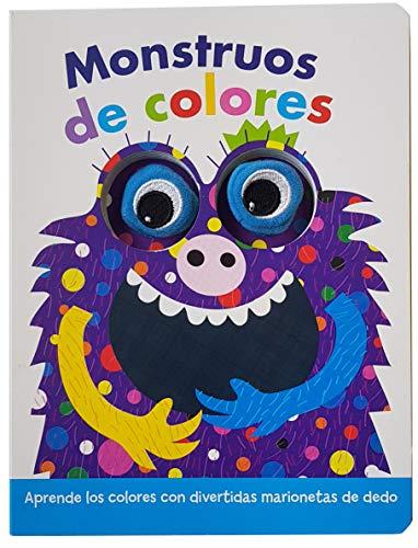 monstruos de colores (LIBRO CON MARIONETAS DE DEDO. MONSTRUOS DE COLORES)