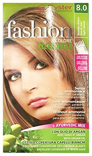 OYSTER Fashion Color natuur zonder ammoniak, p-fendiammin, absorptie, parabenen, met arganolie (8.0)