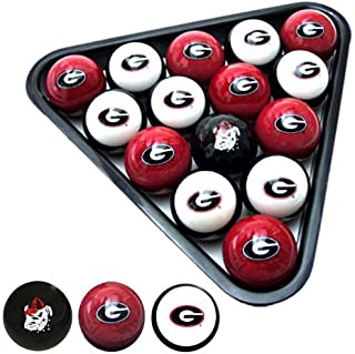 Frenzy Sports Officially Licensed NCAA Custom Team Billiard Ball Set