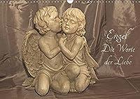 Engel - Die Worte der Liebe (Wandkalender 2022 DIN A3 quer): 12 Engelbotschaften begleiten Sie durchs Jahr. (Monatskalender, 14 Seiten )
