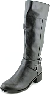 Womens Vedaa Closed Toe Mid-Calf Fashion Boots