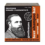 Professor Fuzzworthy's Gentlemans Beer SHAMPOO Bar for Men   Normal, Dry, Oily Hair   Unscented with All Natural… 2