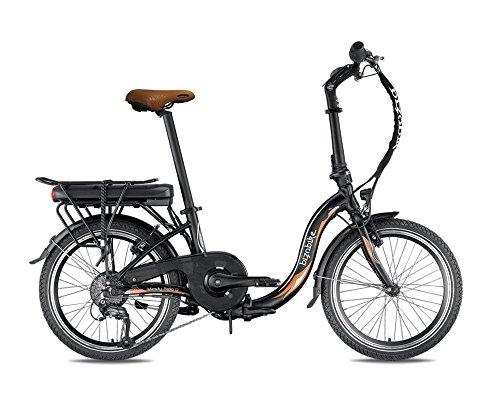 Bicicletta elettrica pieghevole miesty bello nero–Batteria: Li-Ion Panasonic 36V, 14,5Ah–autonomia: 140km–Peso: 20,3kg su Amazon