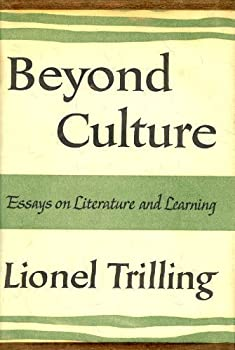 Beyond Culture: Essays on Literature and Learning 0151119872 Book Cover