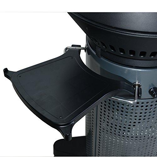 Fuego feacs130x 30x 3cm Fuego Element Clip auf Regal–Schwarz