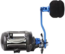 Wbestexercises 12+1BB 7.0:1 High Speed Baitcasting Fishing Reel Metal Heavy Duty Lightweight Ultra Smooth Powerful Casting Ice Fishing Spinning Fishing Reel