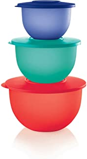 Tupperware Impressions Bowl Containers Nesting Set Storage