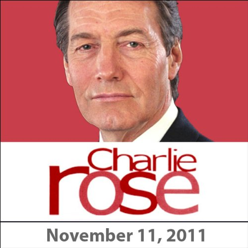Charlie Rose: Mark Zuckerberg and Sheryl Sandberg, November 11, 2011 audiobook cover art