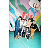 Quintina Kpop Dynāmite Limited Edition dasselbe Poster (Multi-1)