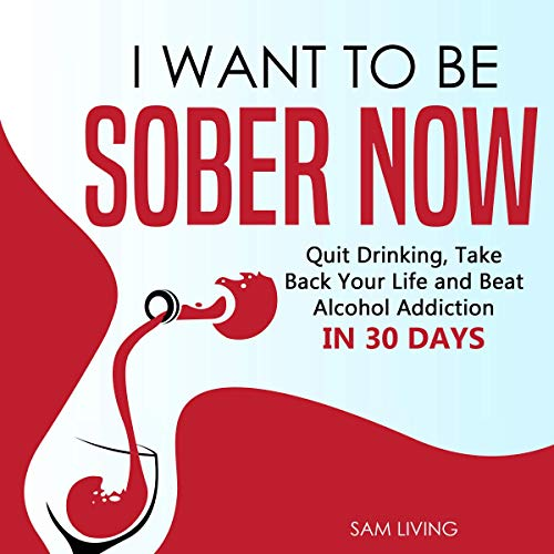 I Want to Be Sober Now Audiobook By Sam Living cover art