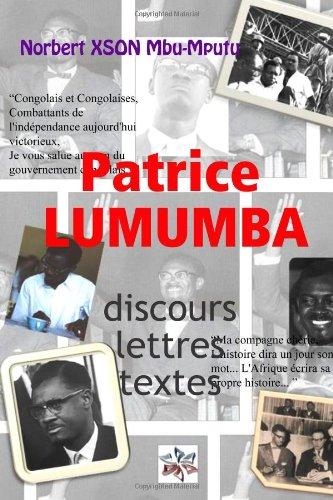 PATRICE LUMUMBA: SPEECHES, LISTY, TEXTY