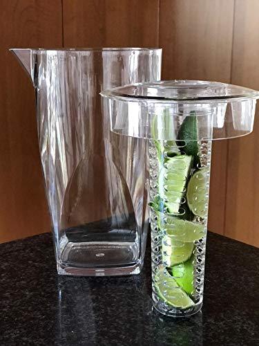 nevera con dispensador de agua y hielo de la marca Privat