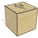 Azeeda Grand 'Bleuet' boîte de Bijoux (JB00031728)