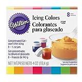 正規輸入品> WILTON(ウィルトン)アイシングカラー8色セット