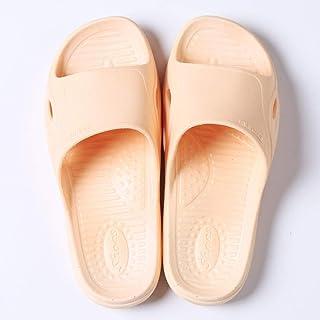 ZZLHHD Chanclas de Playa para niño niña,Foot Massage Slippers, Thick Bathroom Slippers,-Orange_40-41,Zapatillas de Ducha I...