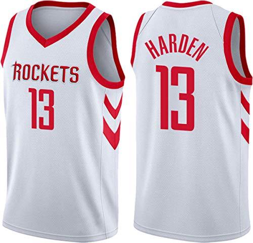 WSUN Camiseta De Baloncesto NBA para Hombre, Houston Rockets 13# James Harden Camiseta De Baloncesto De La NBA, Camiseta De Ventilador NBA Cool and Light Camiseta Sin Mangas,B,XL(180~185CM/85~95KG)