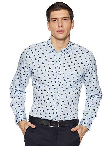 Amazon Brand – Symbol Men's Regular Fit Formal Shirt