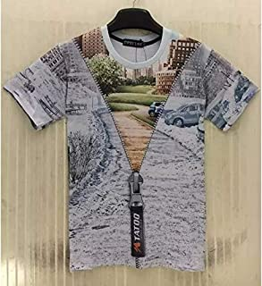 Lalian XXLMen Women 3D Print T-Shirt Print Short Sleeve T-Shirt Casual Shirts Clothes