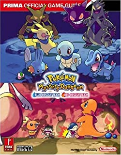 Pokémon Mystery Dungeon: Blue Rescue Team   Red Rescue Team - The Official Pokémon Strategy Guide