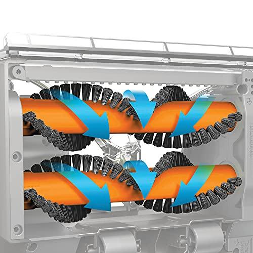 Vax Dual Power Carpet Cleaner, 2.7 Litre, 800 W, Grey/Orange