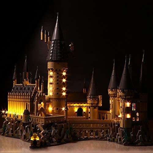 ZHLY Kit di luci LED per Lego 71043 Harry Potter Castello di Hogwarts, Set di Luci Illuminazione per Lego 71043 (Modello Lego Non Incluso) (Versione Classica)