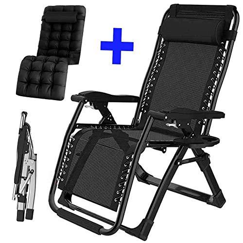 Fswallow Sun Lounger, Sunbed, Reclining Sun Chair, Sunloungers Chair Folding Portable Breathable Lounger Adjustable Backrest Beach Garden Outdoor Patio Lightweight ReclinerStyle 3
