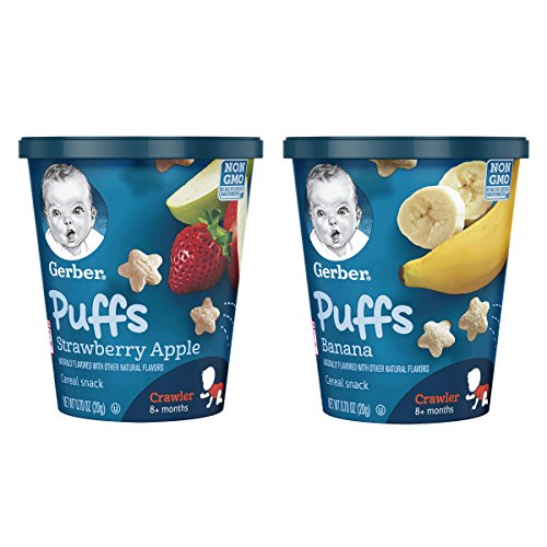 gerber baby food puffs - 9