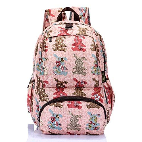Sincere® Fashion Backpack / Zipper Sacs à dos / Rue mode / Multifonction / Mode schoolbag / loisirs sac à main / polyester sac imperméable à l'eau 3