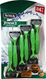 Schick Xtreme 3 Blade Sensitive Razor with Vitamin E & Aloe (24 Count)