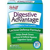 Lactose Support Probiotic Supplement - Digestive Advantage (96 count in a box), Breaks Down Lactose & Relieves Minor Abdominal Discomfort, Survives 100x Better Than Regular 50 Billion CFU