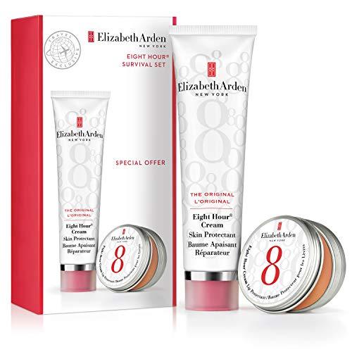 Elizabeth Arden - Eight Hour® Cream – Coffret Baume Apaisant Réparateur & Baume pour les Lèvres – Hydrate & Protège