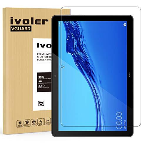 iVoler Pellicola Vetro Temperato per Huawei MediaPad T5 10.1 Pollici, Pellicola Protettiva, Protezione per Schermo