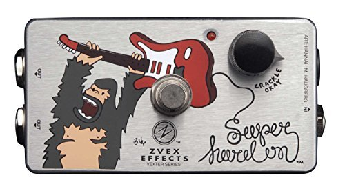 ZVEX Super Hard On Vexter Series Ultra High Impedance Preamp Boost Guitar Pedal [並行輸入品]