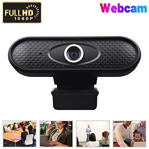 Webcam ウェブカメラ WEBカメラ 1080p HD ウェブカム ストリーミング マイク内蔵 家庭 会議用 heathly PCカメラ,ゲーム,ビデオ通話,録音 USBカメラ