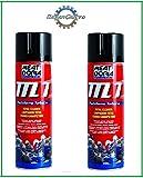 M1 MEAT DORIA SPRAY N.2 unidades Limpiador de frenos embrague carburador profesional