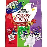 【セット販売】モンプチ クリスピーキッス バラエティパック リッチセレクト 180g×5コ