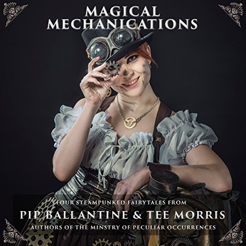 Magical Mechanications audiobook cover art