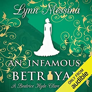 An Infamous Betrayal: A Regency Cozy audiobook cover art