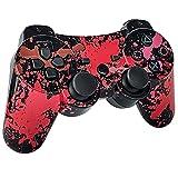 TPFOON Mando PS3 Inalámbrico, Wireless Bluetooth Controlador Gamepad de Doble Vibración SIXAXIS...