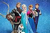 Frozen Thema Tortenaufleger, Rechteckig...