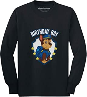 Official Paw Patrol Chase Boys Birthday Toddler/Kids Long Sleeve T-Shirt