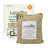 MOSO NATURAL: The Original Air Purifying Bag 600g. for Kitchen, Basement, Family Room. an Unscented, Chemical-Free Odor Eliminator (Natural)